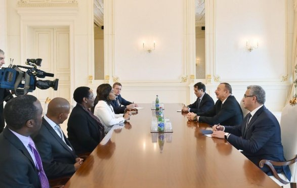 Президент принял министра меж отношений исотрудничества ЮАР