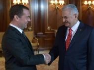 Медведев и Йылдырым обсудили Сирию