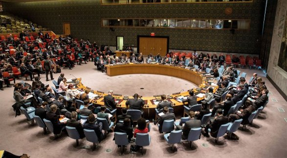 Украина инициировала вСовбезе ООН рассмотрение ситуации вГрузии