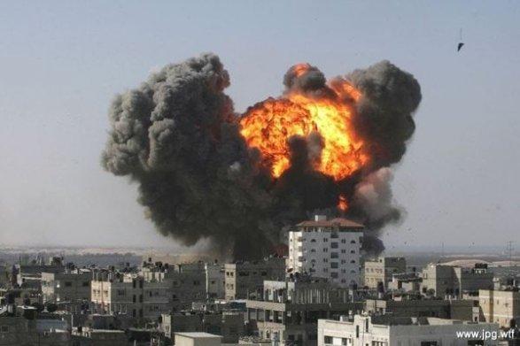 ВВС Турции атаковали позиции ИГИЛ врайоне сирийского города Эль-Баб