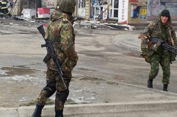 Момент наезда машины боевика наполицейского вГрозном попал навидео