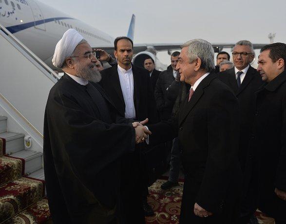 Саргсян: Визит Роухани вАрмению придаст новый дух сотрудничеству