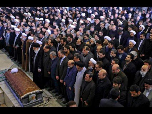 ВИране напохоронах Рафсанджани толпа скандировала «Смерть России»