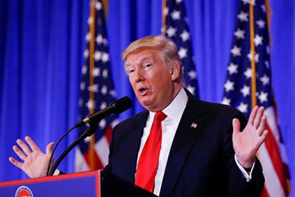 Янебуду предлагать РФ забавную пластмассовую кнопку перезагрузки как Хиллари— Трамп