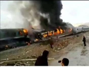 Столкновение поездов в Сербии: десятки раненых
