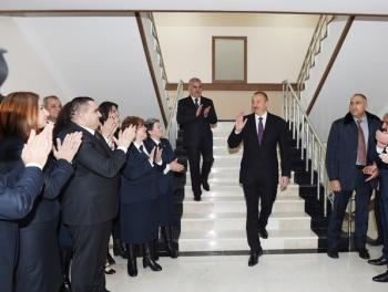 Ильхам Алиев похвалил Васифа Талыбова