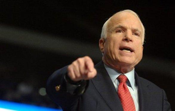 Маккейн неверит в«перезагрузку» отношений междуРФ иСША