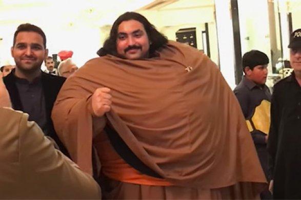 430-килограммовый пакистанец, который думает стать настоящим Геркулесом
