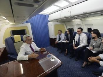 Сбить самолет Саргсяна перед переговорами с Алиевым