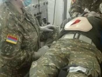 Раненый армянский солдат умер в госпитале