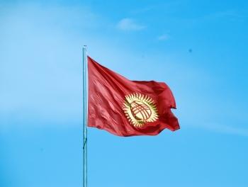 В Посольстве Кыргызстана в Баку приспустили флаги