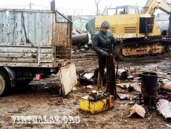 В Баку приостановили прием металлолома Сборщики остались без дела