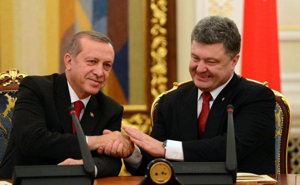 Порошенко иЭрдоган обменялись заверениями вдружбе