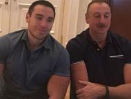 Племянник Ильхама Алиева поднял 170 килограммов