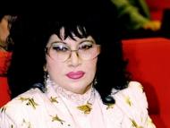 Народная артистка Армянской ССР Зейнаб Ханларова приветствует примирение армян и азербайджанцев