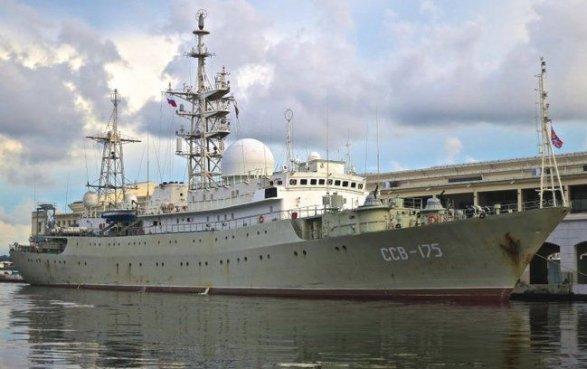 Русский военный корабль «шпионил» уберегов США— Fox News