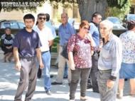 Ходоки у азербайджанского министра