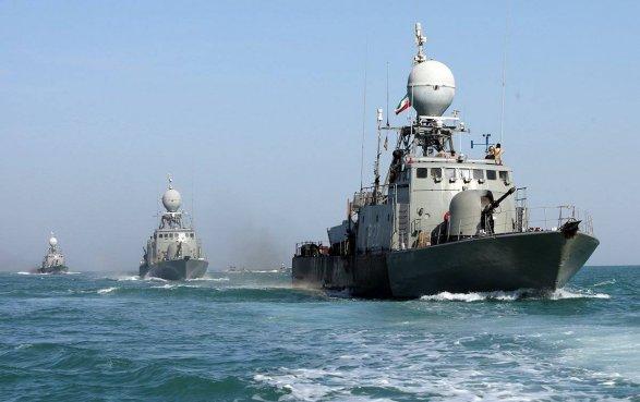 Военный флот Ирана вышел научения вИндийский океан