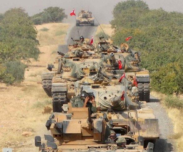 Турецкая армия продвинулась на90км вглубь Сирии— Советник Эрдогана