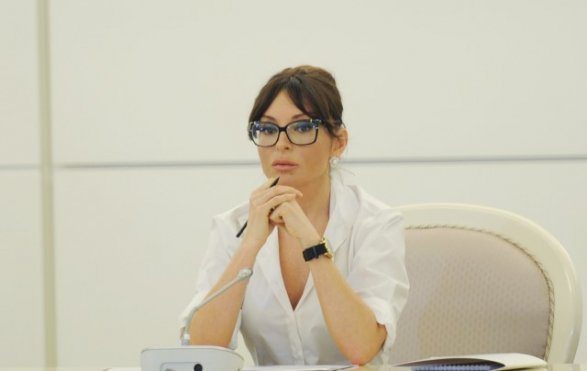 Мехрибан Алиева выступила вМилли Меджлисе