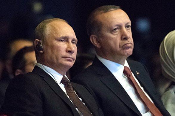 Путин и президент Турции обсудят Сирию