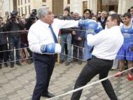 Глава Дашкесана снова вышел на ринг