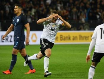Германия обыграла Англию перед приездом в Азербайджан