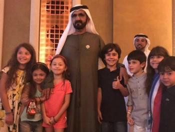 Эмир Дубая заставил ждать Саргсяна и встретился с детьми из Азербайджана