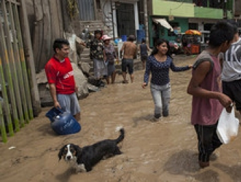Наводнения в Перу затопили целый город