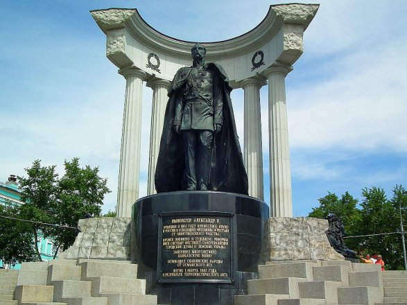 ВБолгарии разгорелась полемика из-за монумента АлександруII