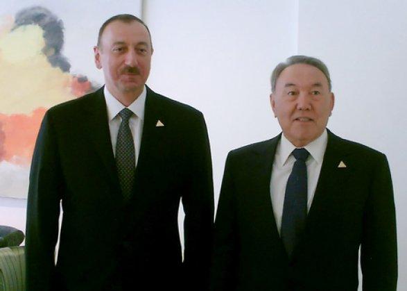 Президент Казахстана Нурсултан Назарбаев прибыл встолице Азербайджана