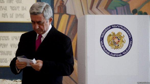Навыборах вАрмении зафиксированы первые нарушения