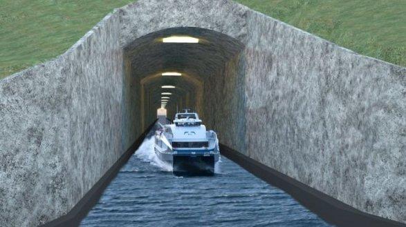Норвегия представила планы построительству первого вмире морского тоннеля