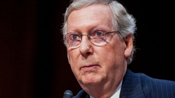Лидер республиканцев вСенате готов поддержать новые санкции против РФ