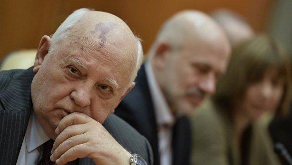 Горбачев: Мир готовится кхолодной войне
