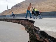 Мощное землетрясение в Чили