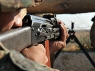 Армяне обстреливают азербайджанские позиции