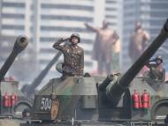 Северная Корея провела массированные учения со стрельбами