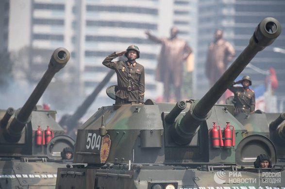 КНДР провела крупнейшие артиллерийские учения