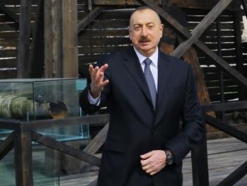 Ильхам Алиев: «Наша нефть принадлежит народу»