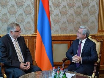 Европейский эмиссар обсудил Карабах с Саргсяном