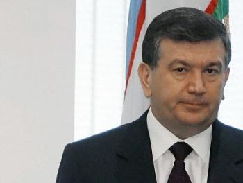 Президент Узбекистана ведет переговоры с американцами