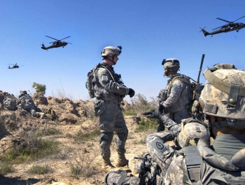 В Мосуле погиб американский солдат