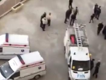 Падение лифта в Баку: 11 пострадавших