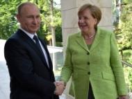 Меркель заглянула в глаза Путину