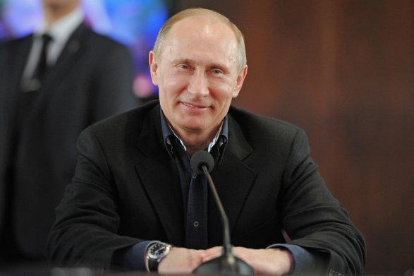 Основное большенство граждан России одобряет работу В.Путина