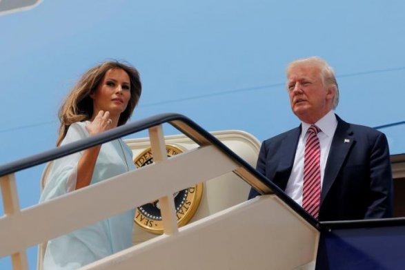 Дональд Трамп прибыл свизитом вИзраиль