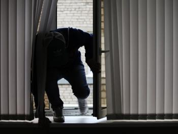 Воры проникли в Управление МВД России
