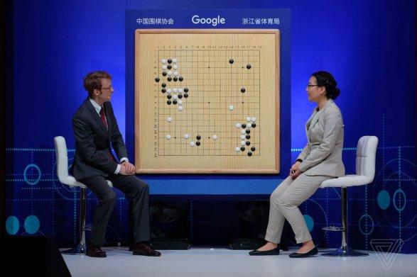 В КНР  сильнейший игрок вгопроиграл все три матча программе
