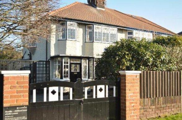 Таинственное тройное убийство произошло вдоме Леннона вЛиверпуле